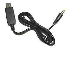 5v to 12v USB voltaj yükseltici kablo 5,5×2,1mm